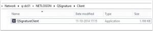 QSignatureNetlogonClient